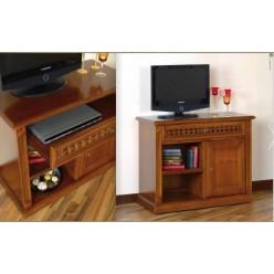 Комод ТВ с витринами в гостиную Романтик Люкс