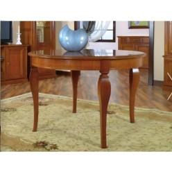 Стол круглый раскладной в столовую Романтика Люкс