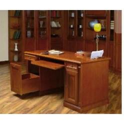 Стол письменный в классический рабочий кабинет  Романтика Люкс