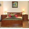 Классическая кровать в спальню Романтик Люкс