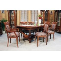 Стол и стулья в коллекцию мебели  София Голд (SOPHIA GOLD)