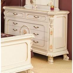 Комод с зеркалом в классическую спальню София Голд (SOPHIA GOLD)