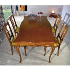 Прямоугольный стол раскладной в гостиный гарнитур Венето