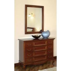 Классический комод с зеркалом в спальню Вивере