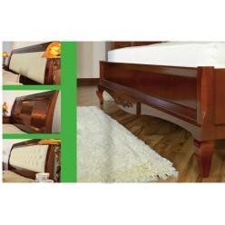 Кровать с прямым изголовьем в спальню Вивере