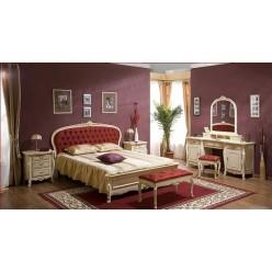 Кровать с оббитым изголовьем Аркад (ARCAD) от производителя Симекс