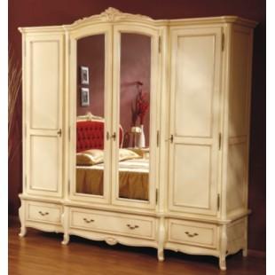 Шкаф четырехдверный в спальню Аркад