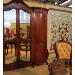 Шкаф четырехстворочный в спальню Августини