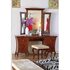 Туалетный стол с зеркалом в спальню Капри