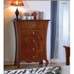 Комод в спальный гарнитур Капри Мобекс