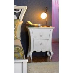 Тумбочка прикроватная в спальный гарнитур Капри