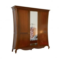 Шкаф трехдверный в спальню Капри Мобекс