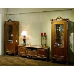 Комод ТВ с витринами в гостиную Кортигиана