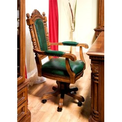 Вращающийся стул с подлокотником Кристина (CRISTINA) от Симекс