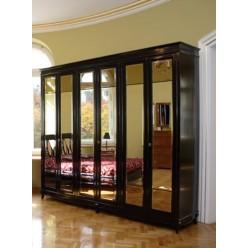 Шкаф шестидверный в спальню Гуаленго