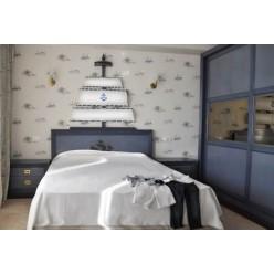 Кровать в спальный детский гарнитур Олд Неви