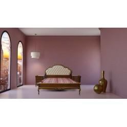 Красивая кровать с оббитым изголовьем в спальню Палермо (Palermo)