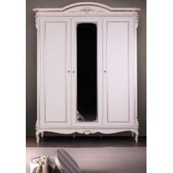 Классический четырехдверный шкаф в мебельный гарнитур Палермо