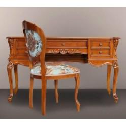 Классический резной письменный стол Палермо