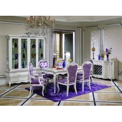 Классический прямоугольный стол в гостиную Принцесса