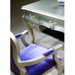 Белый стул для кабинета Принцесса