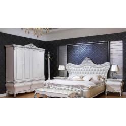 Красивая богатая кровать в спальню Принцесса в стиле барокко