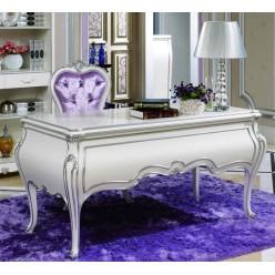 Белый письменный стол в кабинет Принцесса