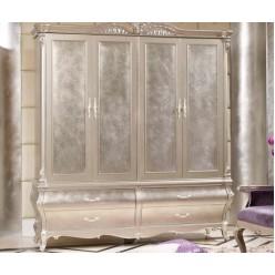 Четырехстворочный шкаф в спальный гарнитур Принцесса