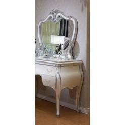 Серебряный туалетный столик в спальню Принцесса