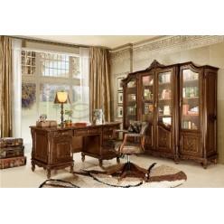 Классическая резная мебель в кабинет Регал Ардудана