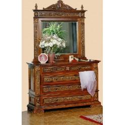 Комод с зеркалом в спальню Итальянский Ренессанс