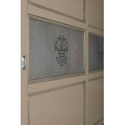 Классический шкаф-купе в спальню Россини