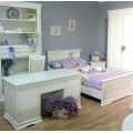 Белая мебель для детской спальни от производителя Симекс Румыния