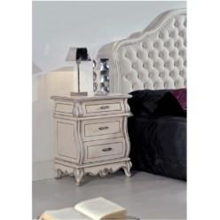 Белая прикроватная тумбочка в спальню Тинторетто