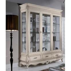 Классическая витрина в мебельный гарнитур Тинторенто