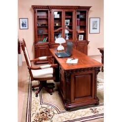 Письменный стол из натурального дерева Венеция Люкс (Venetia Lux)