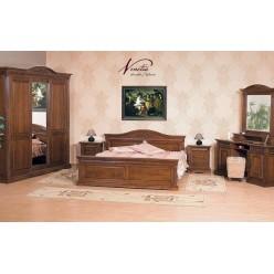 Кровать двухспальная в мебельный гарнитур Венеция (Venetia)