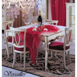Белый обеденный стол в гостиный гарнитур Версаль