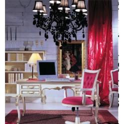 Белый четырехдверный шкаф в спальню Версаль