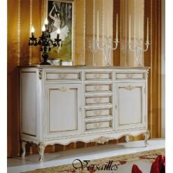 Белый буфет в гостиный гарнитур Версаль