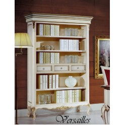 Белая библиотека в кабинет Версаль