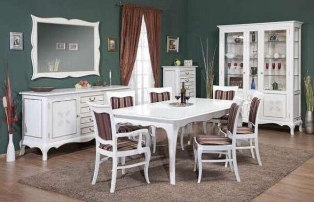 белая мебель в гостиную Cora со склада производителя Simex недорого