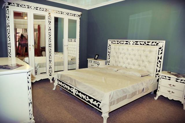 купить красивую классическую спальню Ravena от румынского